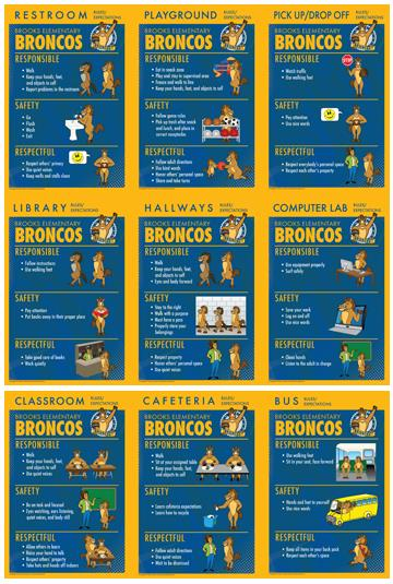 Rules Posters Bronco