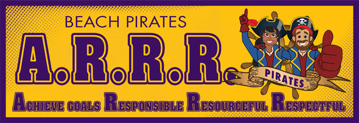 Pirate Banner PBIS Character