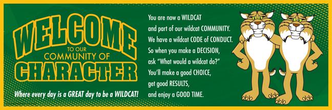 Welcome Poster Wildcat