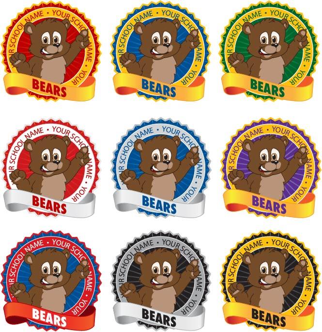 Bear Cub Logo Mascot Design