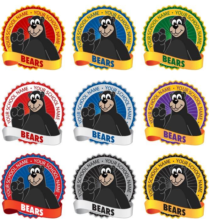 Bear Logo Mascot