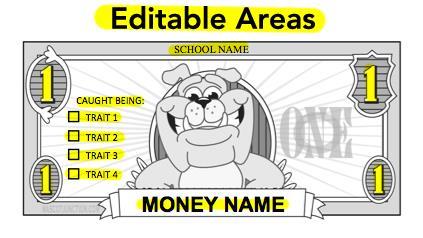 Bulldog Money Template