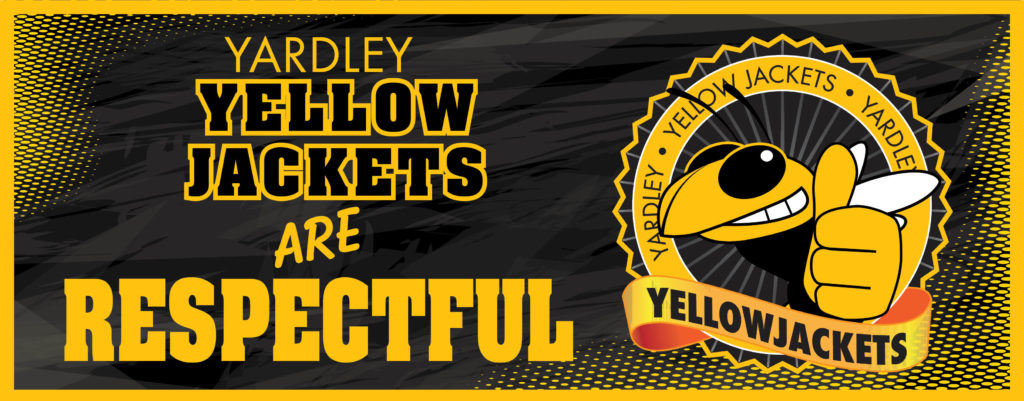 Ceiling Banners Yellow Jacket 3