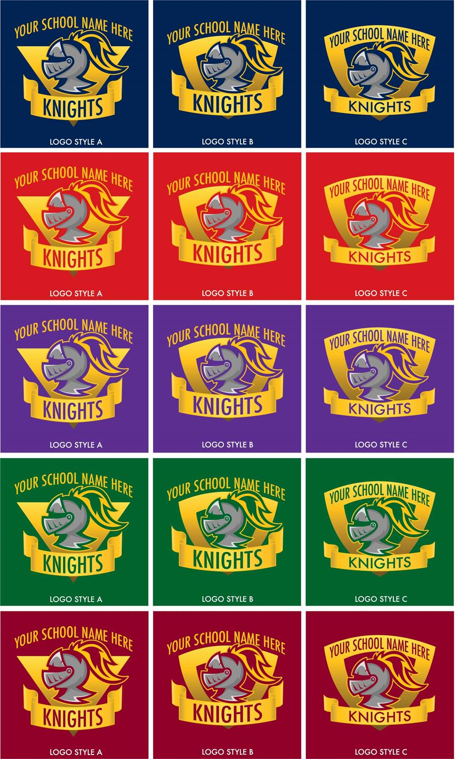 Knight Logo School Mascot