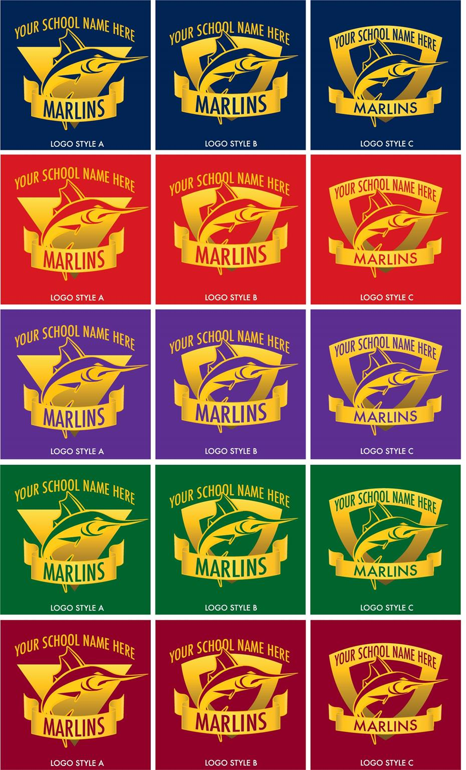 Marlin Logo Graphic Design