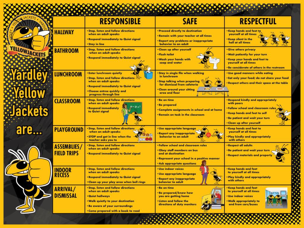 Matrix Banner Yellow Jacket