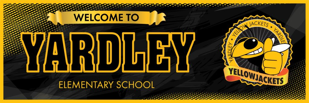 Welcome Banner Yellow Jacket