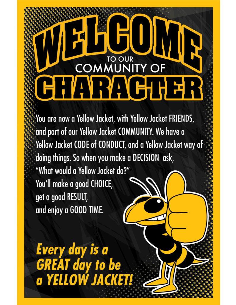 Welcome Poster Character