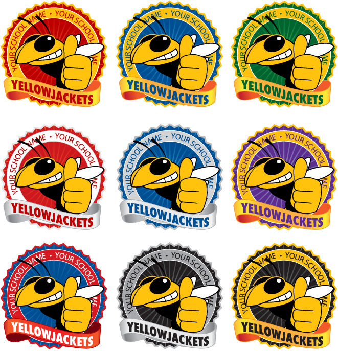 Yellow Jacket Logo Template