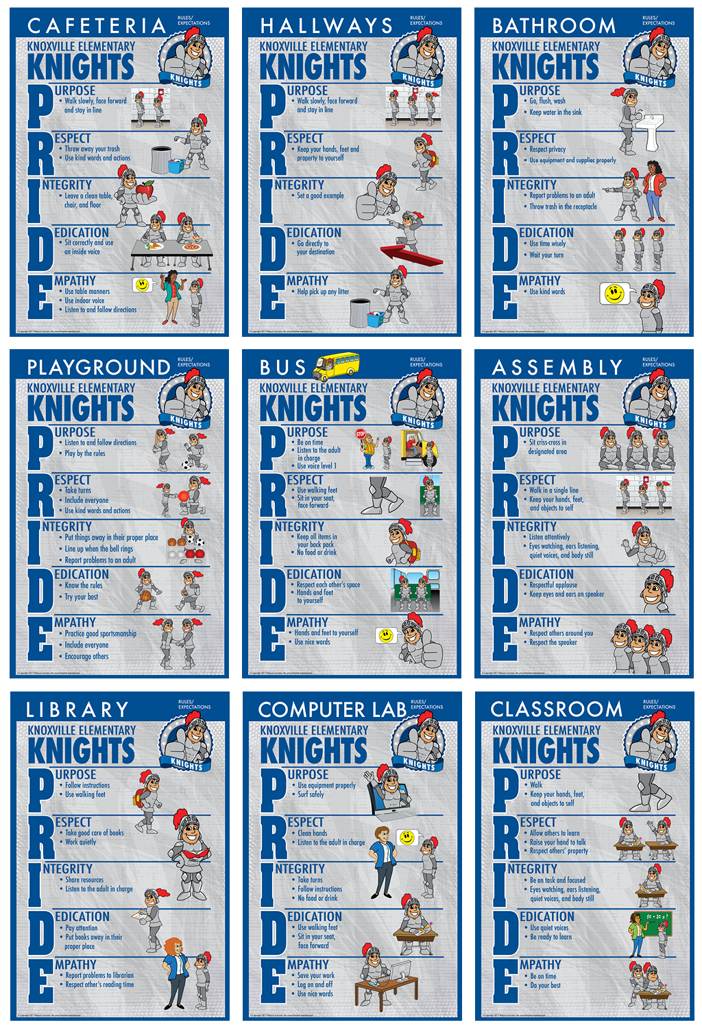 Rules Poster Knight 1