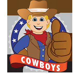 Cowboy Logo Cartoon
