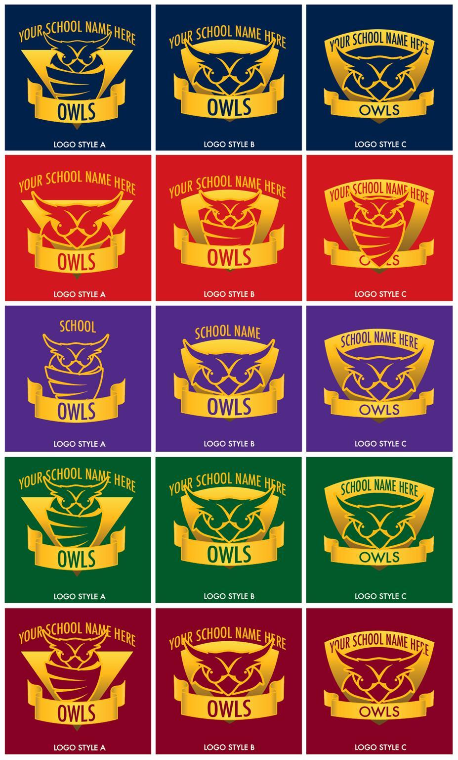 Owl Graphic Logo