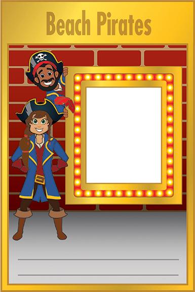 Pirate Student Clip Art