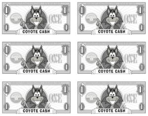 Coyote Cash Gotcha Rewards