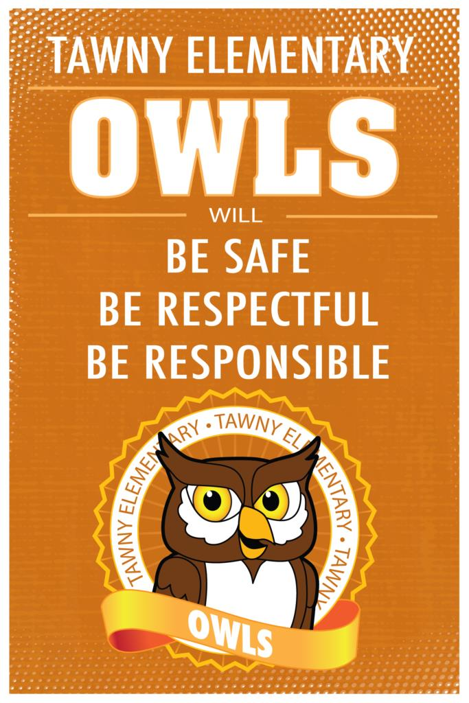 Be Safe Respectful Responsible Poster