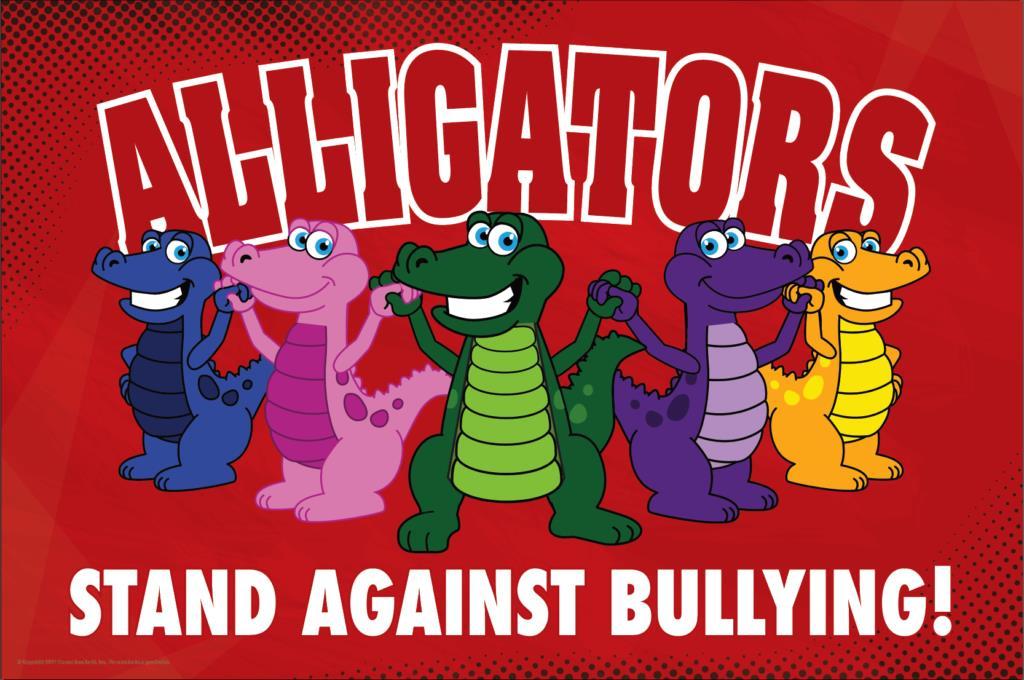 Anti Bullying Poster Alligators
