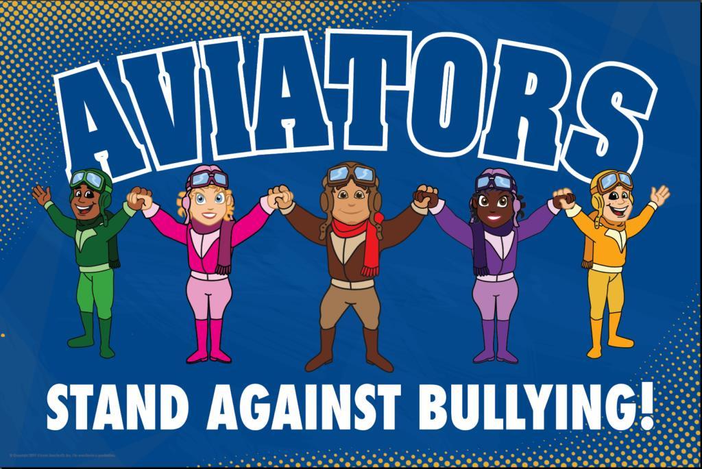 Anti Bullying Poster Aviators