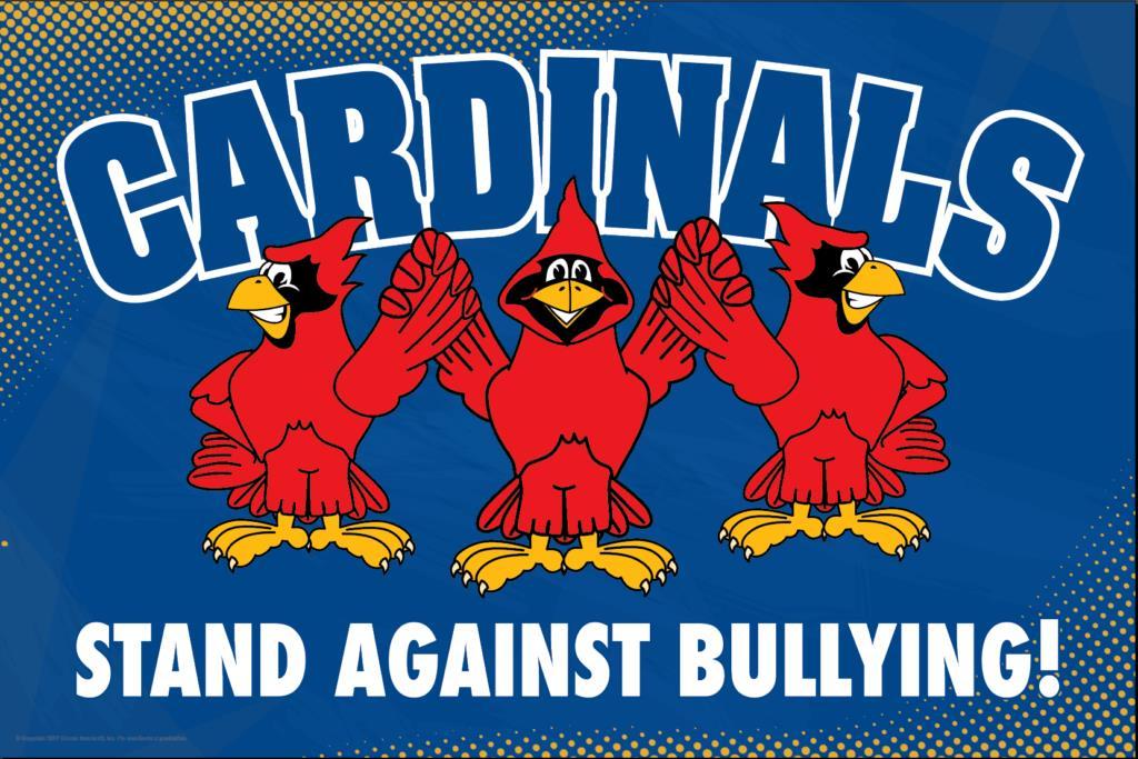 Anti Bullying Poster Cardinals