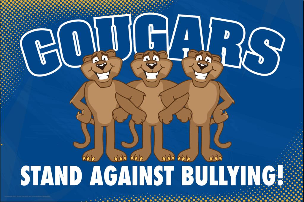 Anti Bullying Poster Cougars