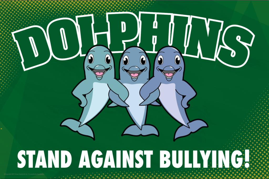 Anti Bullying Poster Dolphins