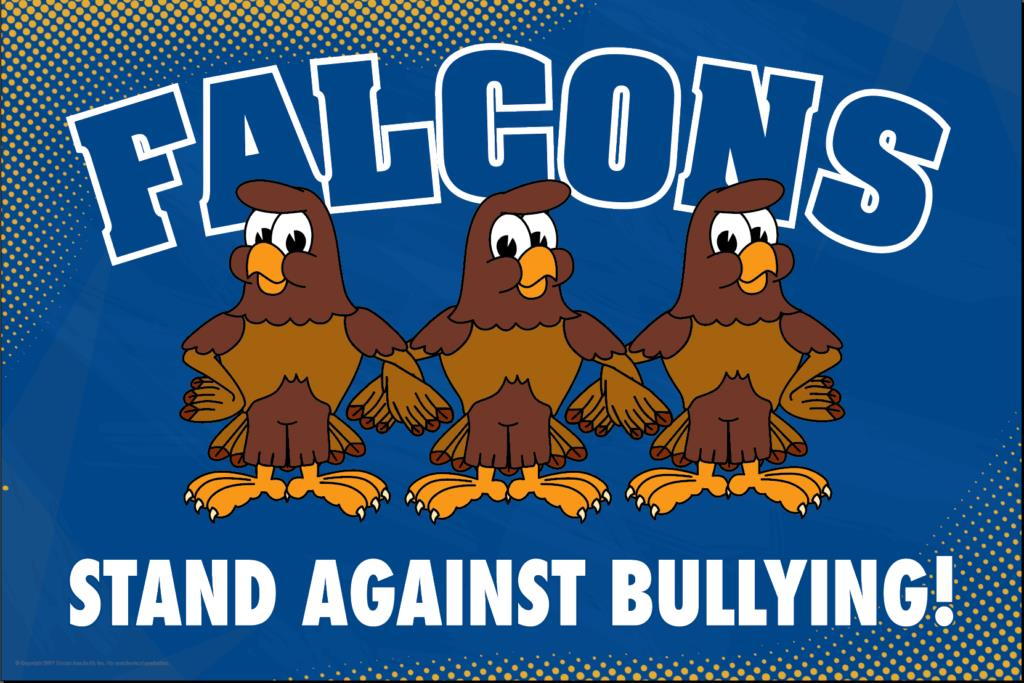 Anti Bullying Poster Falcons
