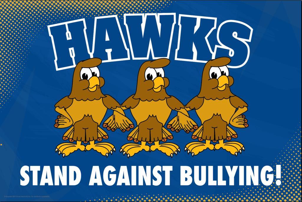 Anti Bullying Poster Hawks