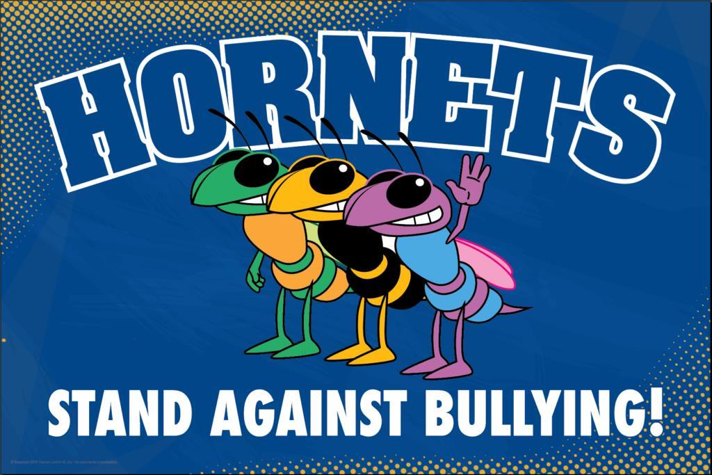 Anti Bullying Poster Hornets