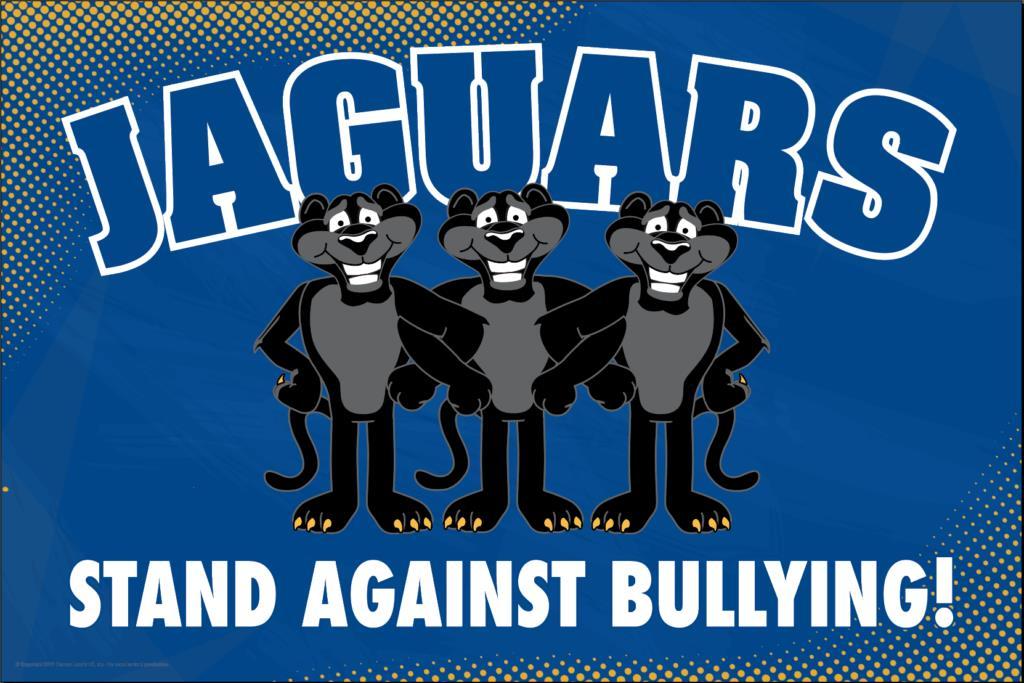 Anti Bullying Poster Jaguars (Black)