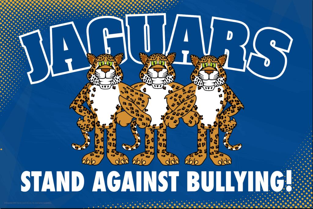Anti Bullying Poster Jaguars (Spotted)