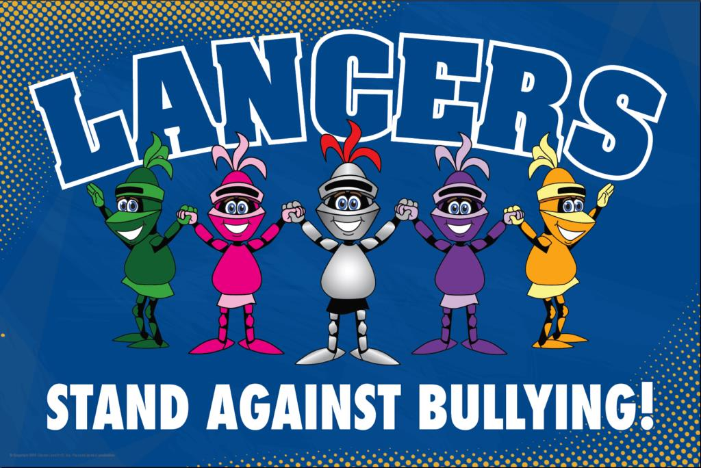 Anti Bullying Poster Lancers