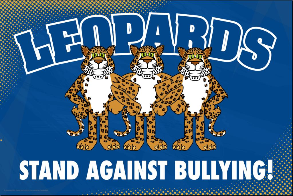 Anti Bullying Poster Leopards