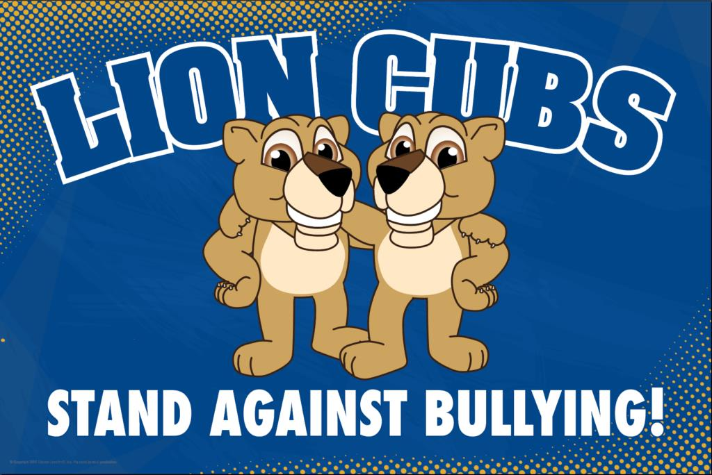 Anti Bullying Poster Lion Cubs