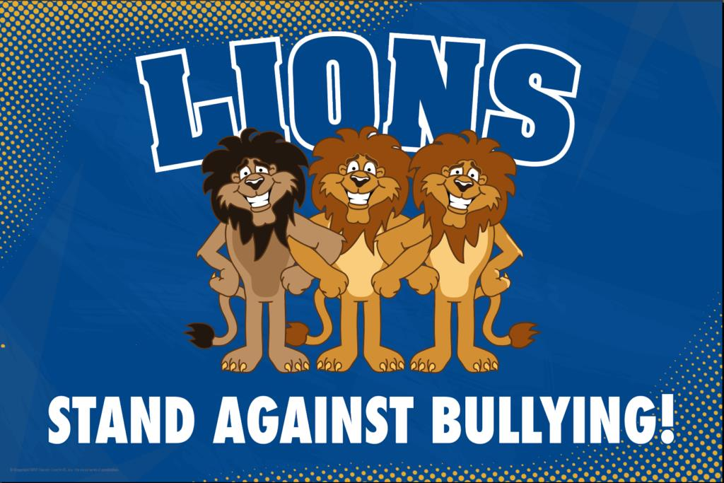 Anti Bullying Poster Lions