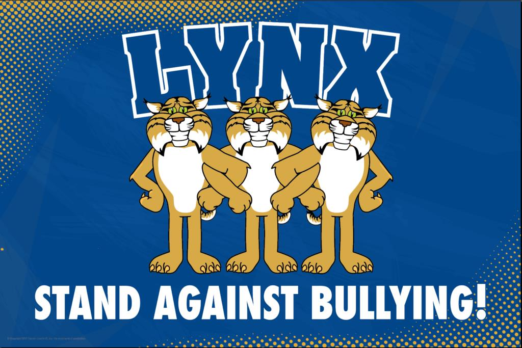 Anti Bullying Poster Lynx