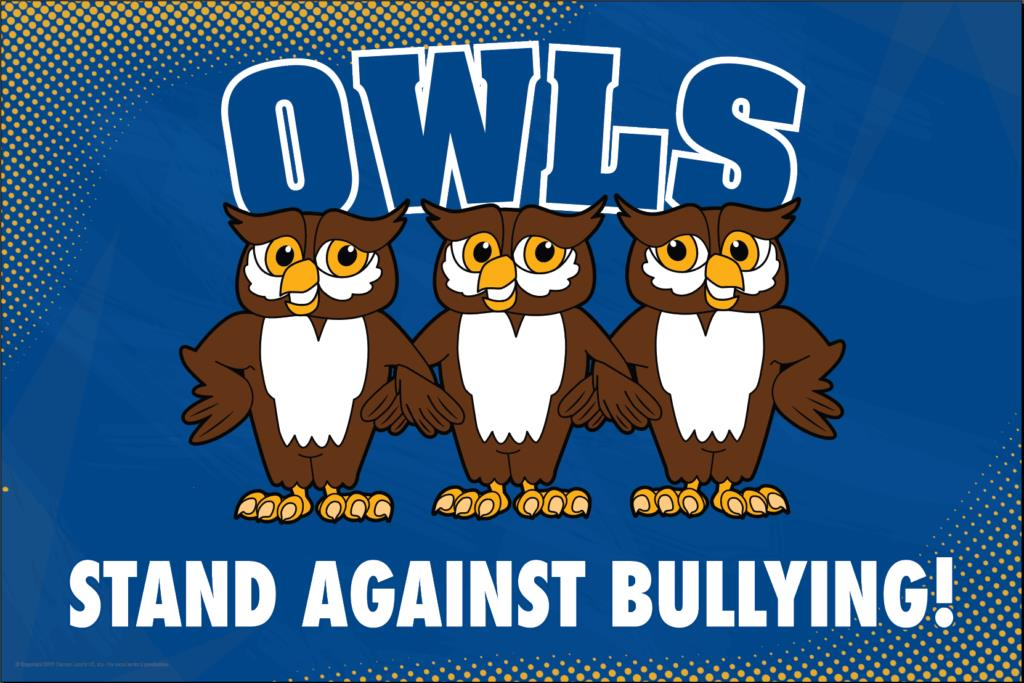 Anti Bullying Poster Owls