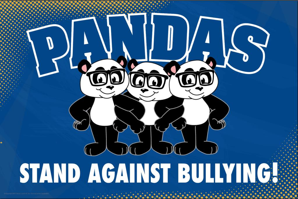 Anti Bullying Poster Pandas