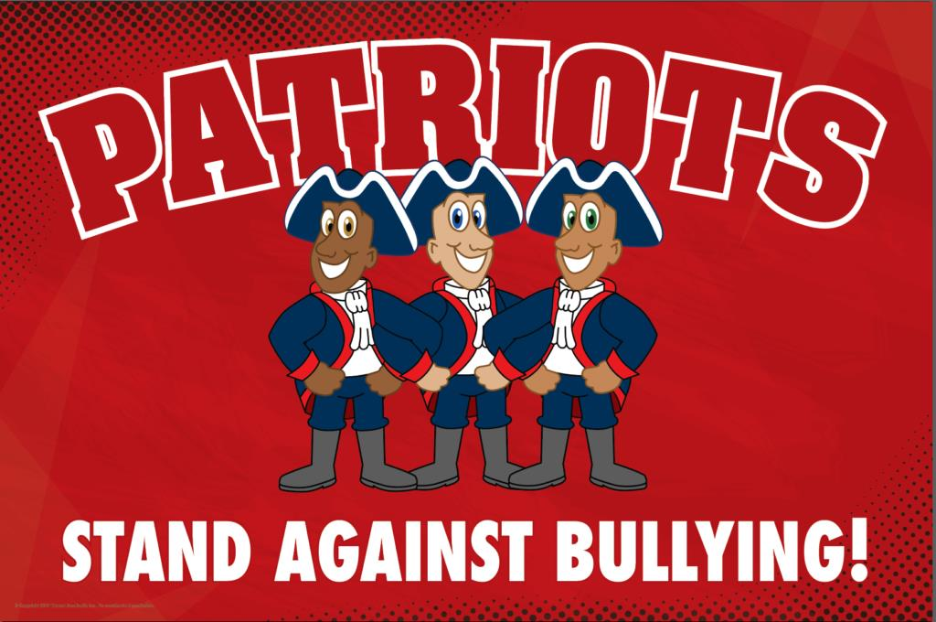 Anti Bullying Poster Patriots