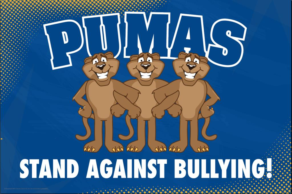 Anti Bullying Poster Pumas