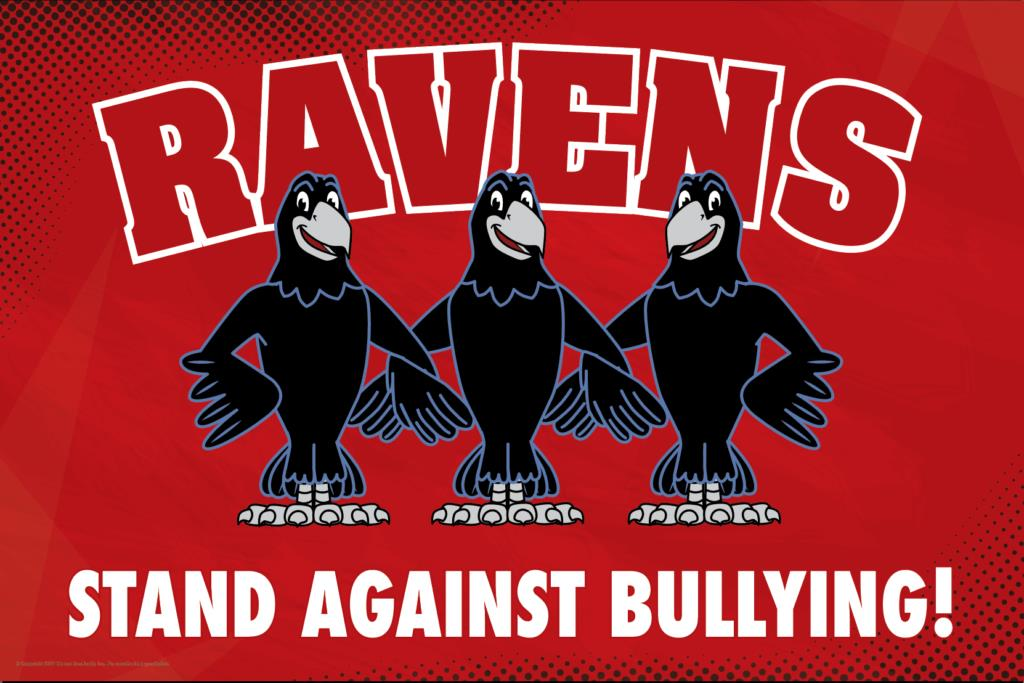 Anti Bullying Poster Ravens