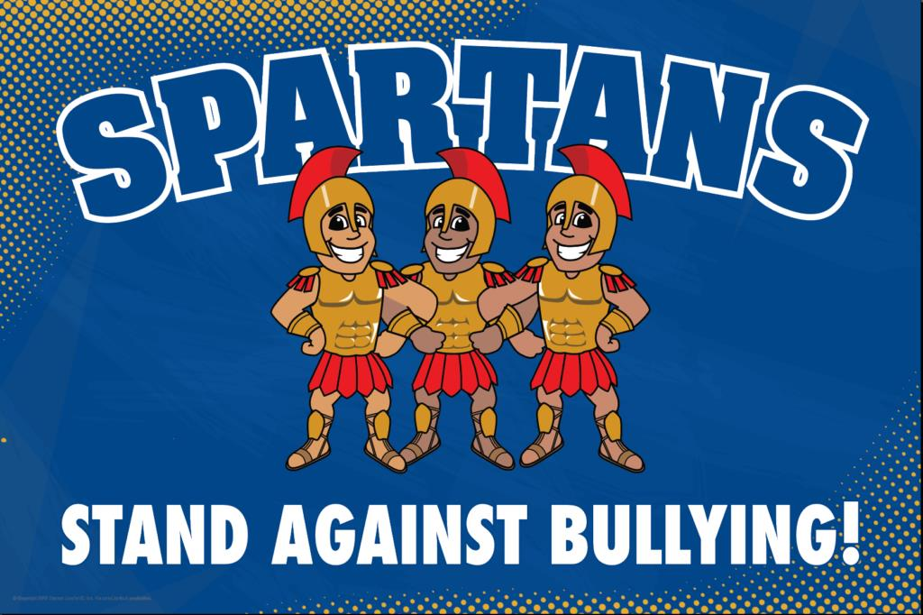 Anti Bullying Poster Spartans