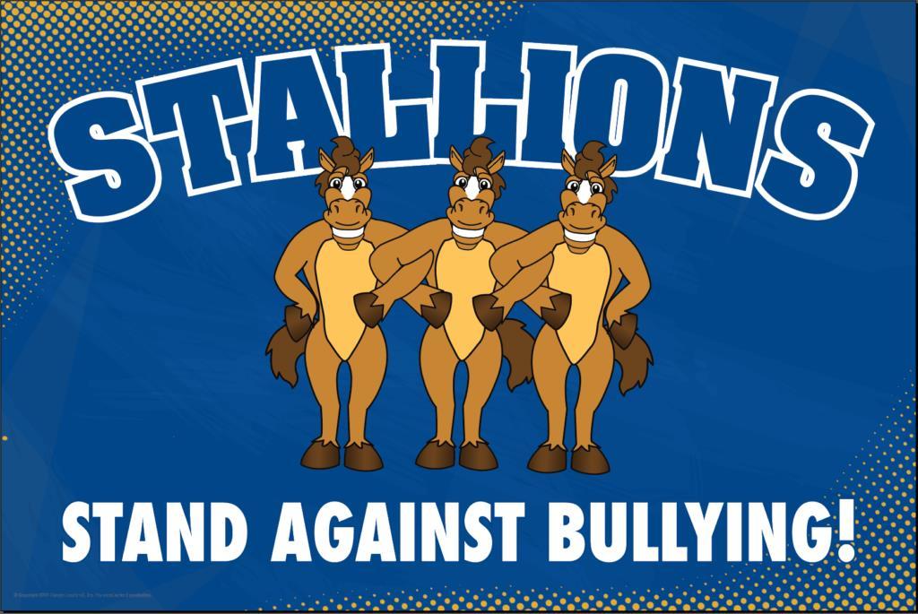 Anti Bullying Poster Stallions