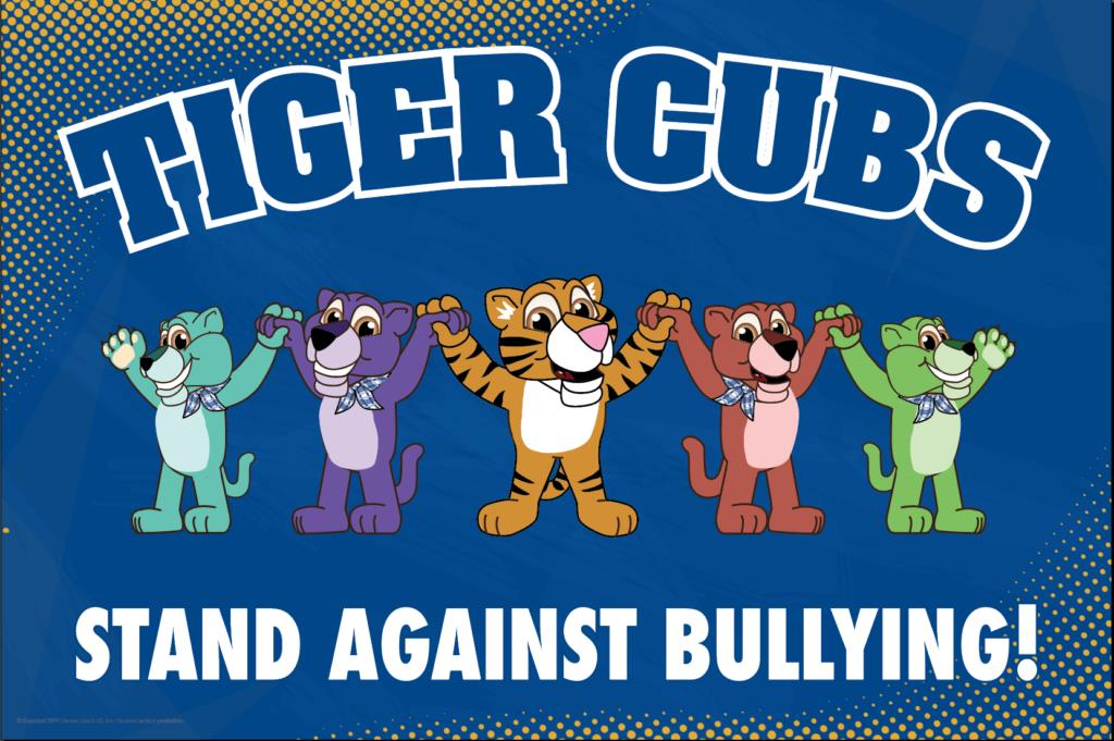 Anti Bullying Poster Tiger Cubs