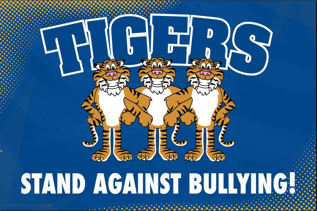 Anti Bullying Poster Tigers
