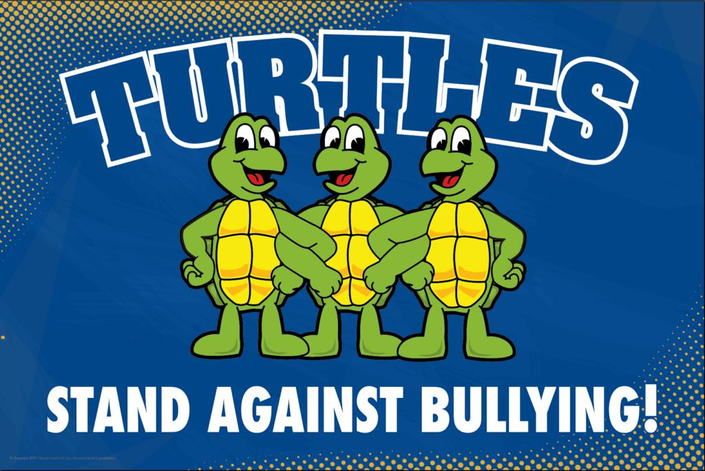 Anti Bullying Poster Turtles