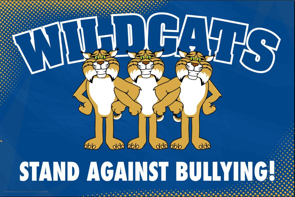 Anti Bullying Poster Wildcats