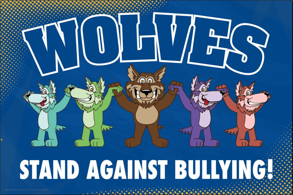 Anti Bullying Poster Wolves