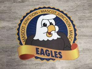 Floor Sticker School Logo
