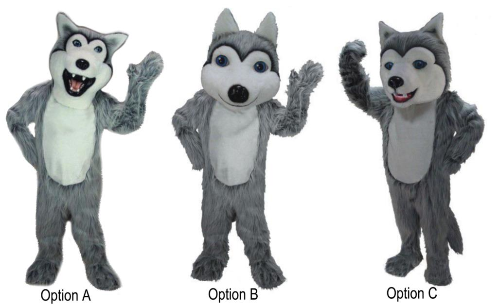 Husky Mascot Costumes Junction