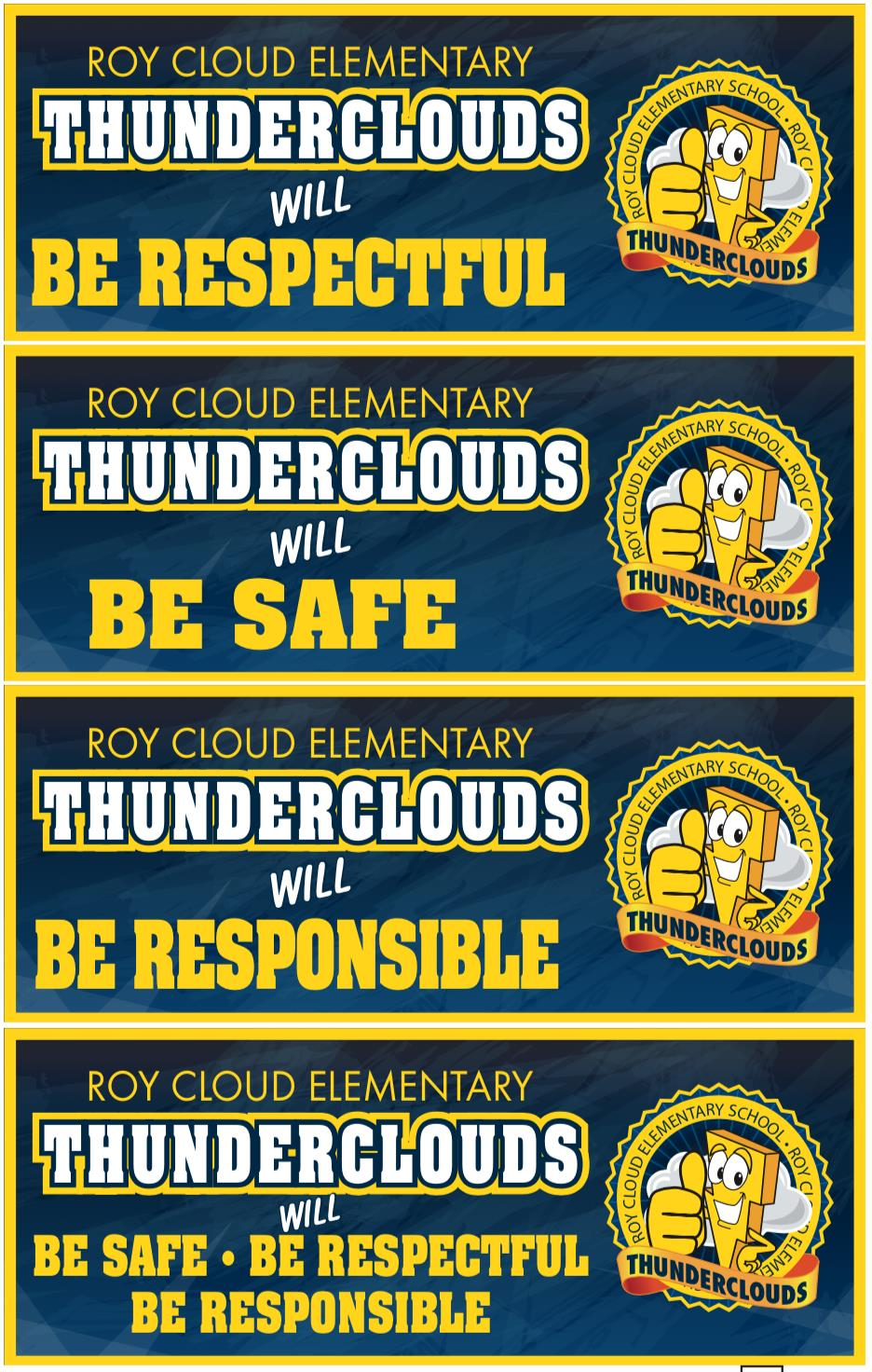 Ceiling Signs Banners PBIS