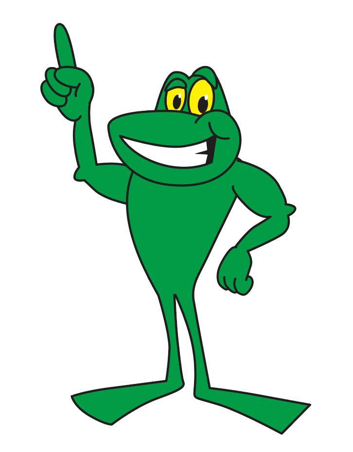 Frog Mascot Clip Art